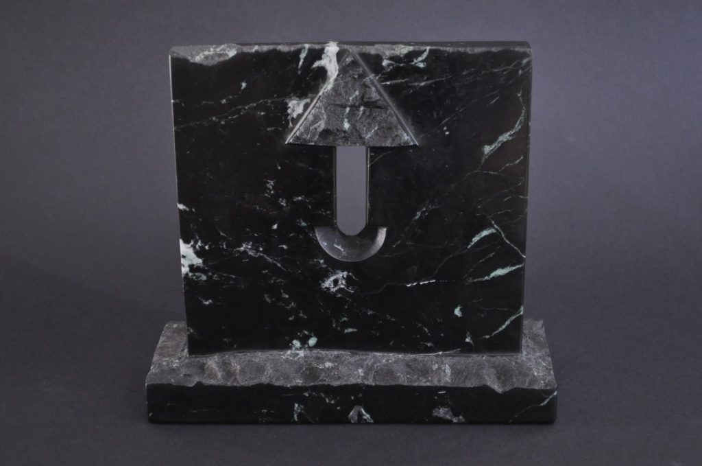 Hospitable gate 03 /  Black marble