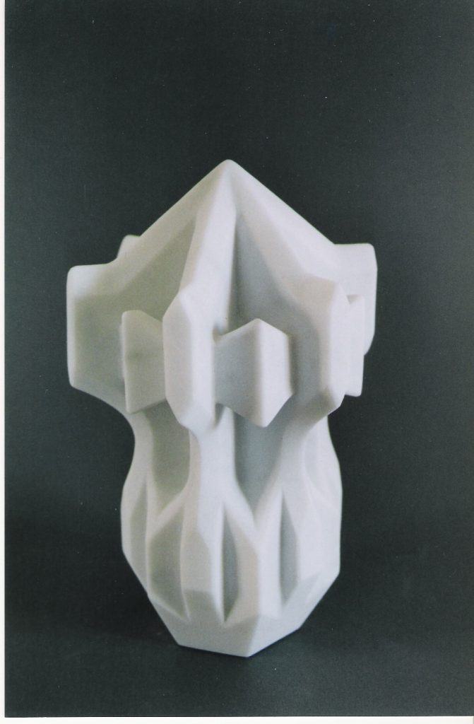 Stone flower 10 / Marble