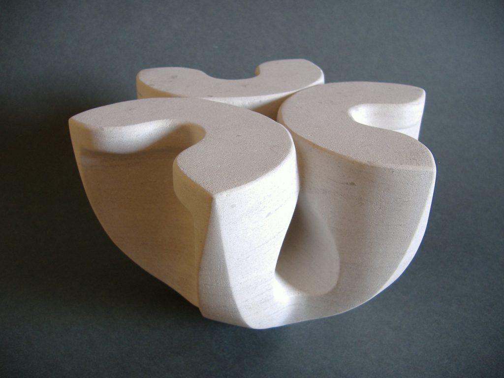 Stone flower 17 / Calcareous stone