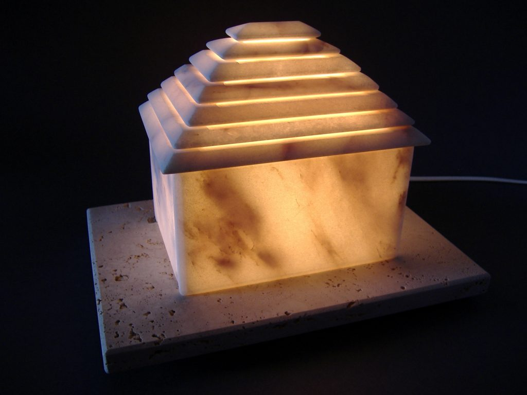 House - Light 03 / Marble, Travertine