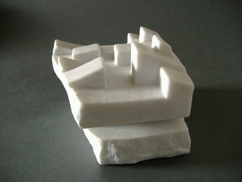 Remains of civilization / Marble